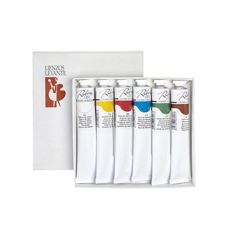 Gama rubens cryl acr lico para el profesional tienda del - Pintura acrilica pared ...