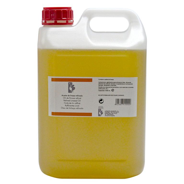 Aceite de linaza refinado tienda del artista - Precio aceite de linaza ...