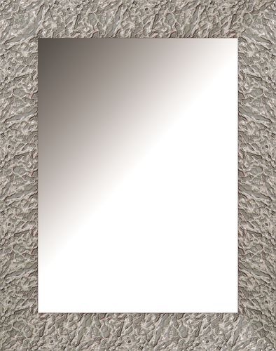 Espejo decorativo de pared plata 0135P 98 x 77